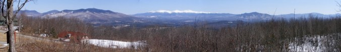 from summit of Mt. Prospect, Lancaster NH, 4/6/13