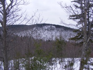 Barrett Mtn. from Windblown's lower trails