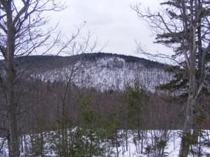 Barrett Mtn. from Windblown's lower trails