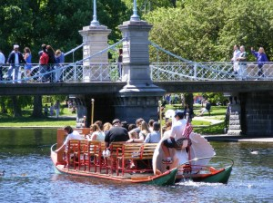 Swan boat, Boston Public Garden