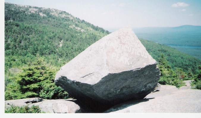 Bald Rock, Monadnock State Park, NH. Photo by Ellen Kolb.