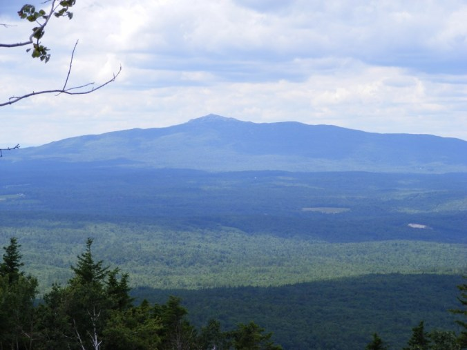 Mt. Monadnock from Temple Mountain. Photo by Ellen Kolb.