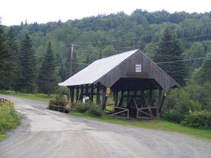 River Road covered bridge, on the way to Lake Francis SP. Ellen Kolb photo.