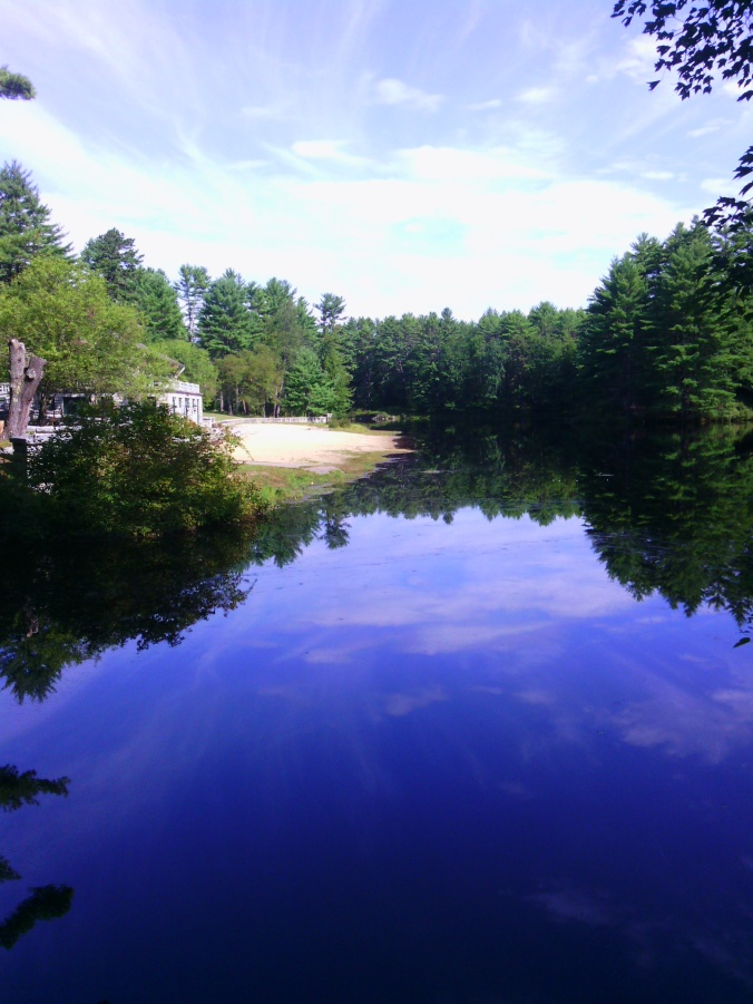 Catamount Pond, Bear Brook SP (Ellen Kolb photo)