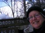 late-winter blogger selfie