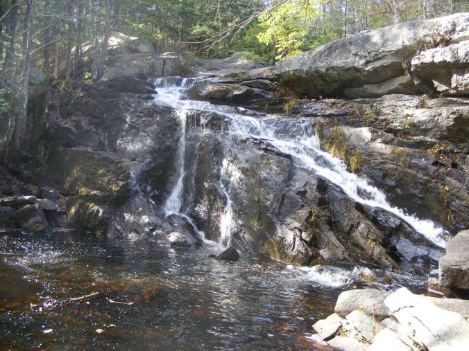 Lower Purgatory Falls (E. Kolb photo)