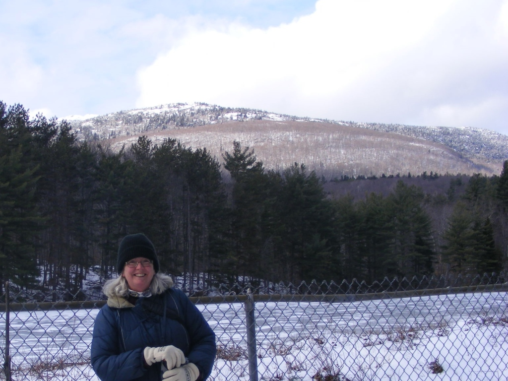 Ellen Kolb at Monadnock State Park, New Hampshire