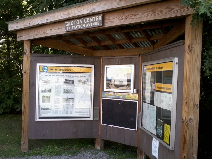 The best-maintained and most informative kiosk along the NRRT.