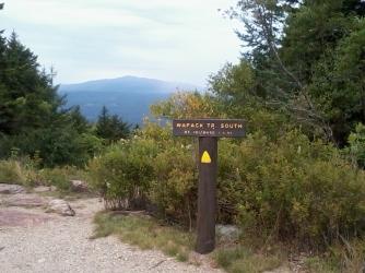 View to Mount Monadnock.