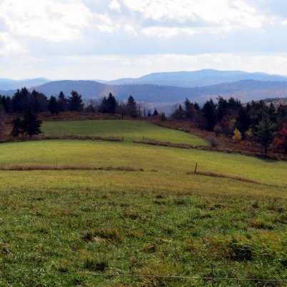Mount Monadnock seen from Pitcher Mountain, Stoddard NH