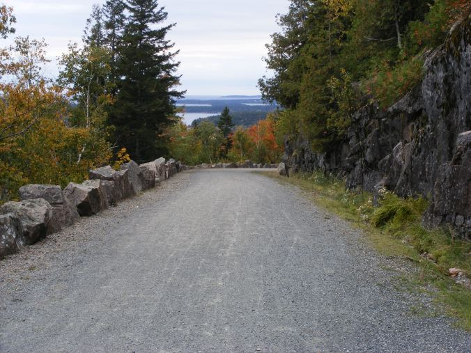 Carriage trail, Acadia National Park