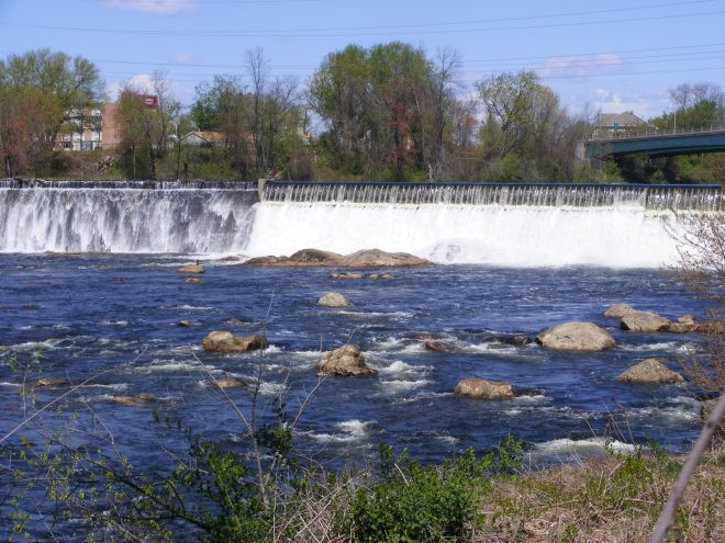 Amoskeag Falls, Manchester, NH
