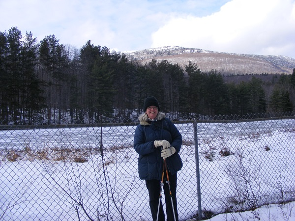 The Granite State Walker kicking off the New Year at Monadnock State Park.