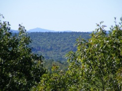Mount Monadnock, seen from the top of the hill at the Andres Institute.