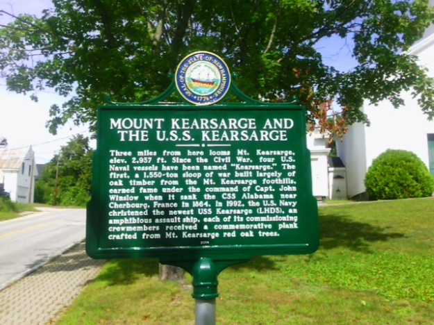 Bonus: a new historical marker in Warner. I've photographed more than a hundred markers statewide, aiming to capture them all.