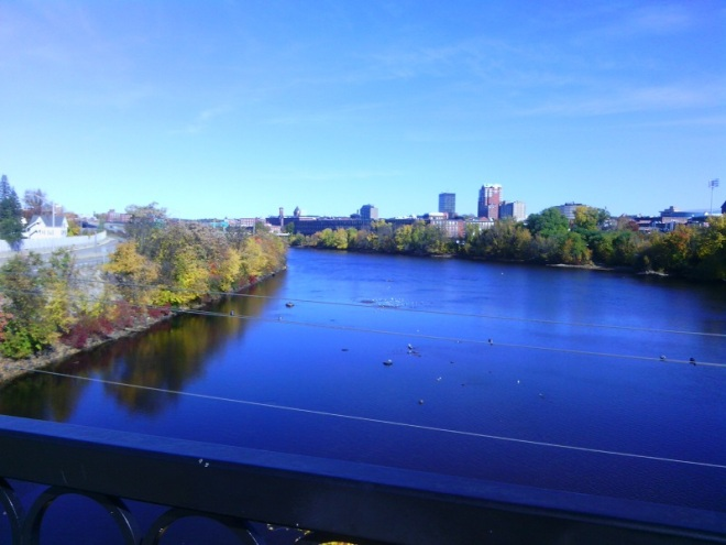 The Queen City: Manchester, New Hampshire.