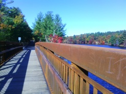 At long last, a trail bridge crosses the Piscataquog River to link Manchester with Goffstown.