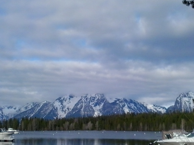 view from Colter Bay GTNP