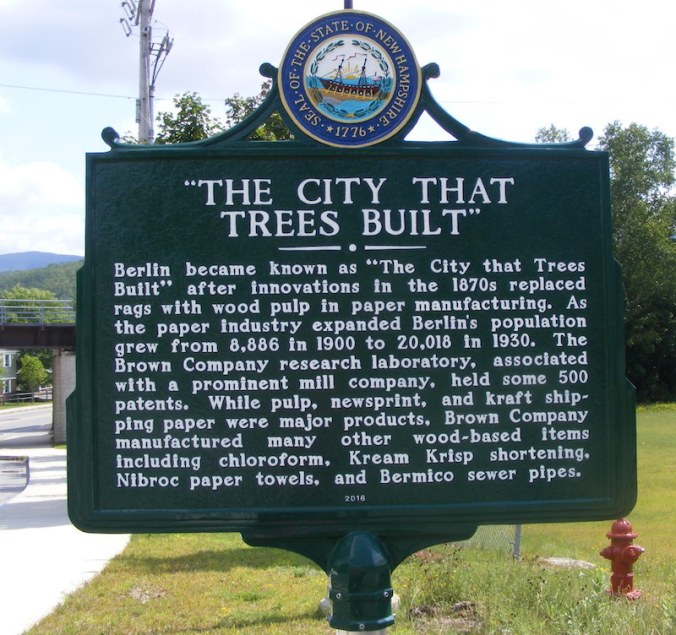 City Trees Built marker