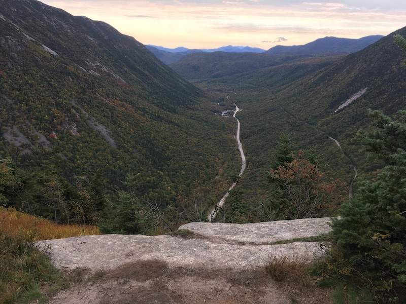 Crawford Notch from Mt Willard
