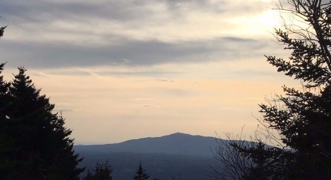 Monadnock at dusk
