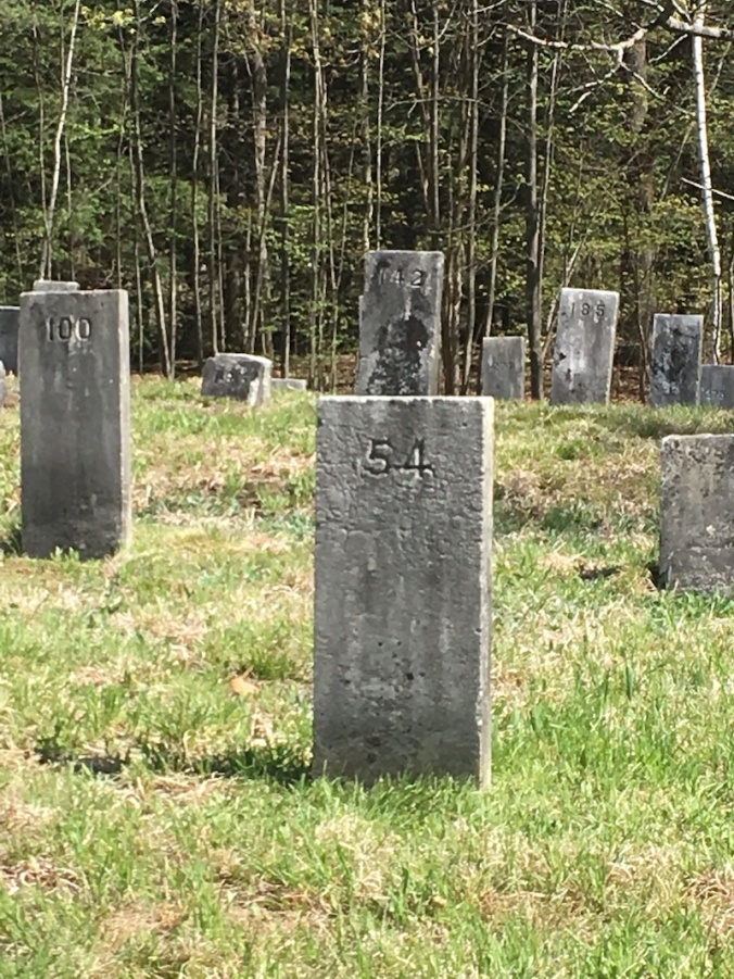 gravestones in Goffstown NH