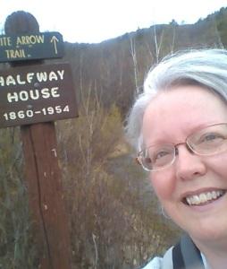 Ellen Kolb on MT. Monadnock NH