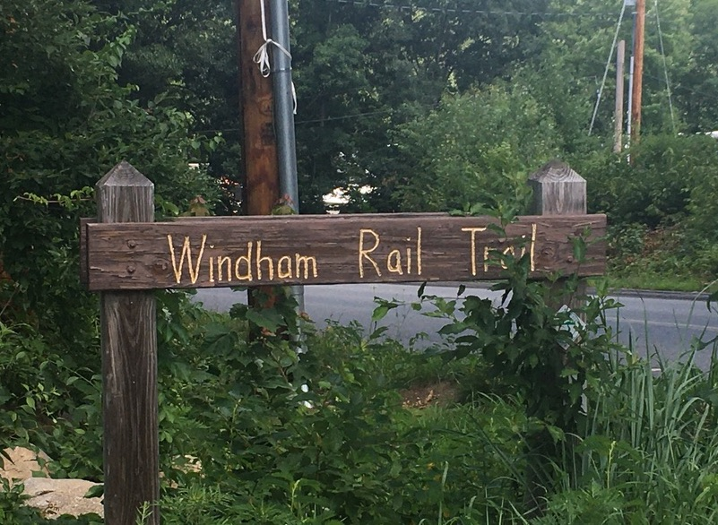 Windham rail trail NH