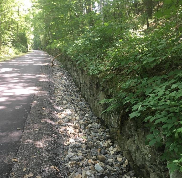Windham rail trail NH