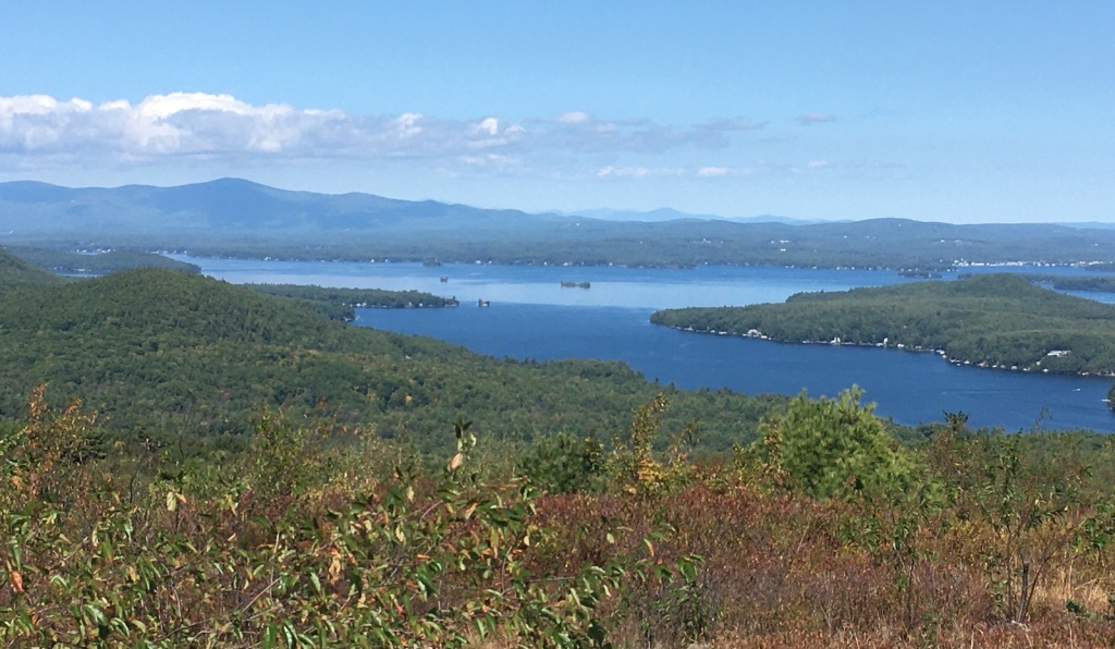 Lake Winnipesaukee and Alton Bay, New Hampshire. Photo by Ellen Kolb.
